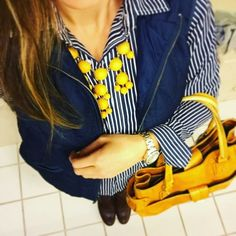 Crock-Pot Pulled Pork | Tasteful Space Yellow Color Combinations, Polo Outfit, Mint And Navy, Winter Wardrobe, Perfect Match, Printed Shirts, Preppy, Bomber Jacket, Girly