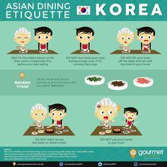 Asian Dining Etiquette Series: Dining in Korea Korean Words Learning, Korean Language Learning, How To Speak Korean, Learn Korean, Learn Hangul, Korean Alphabet, Korean Lessons, Korean Phrases, South Korea Travel