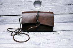 Mała skórzana torebka, torebka wieczorowa - GOMA-leatherwork - Torebki