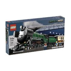 LEGO Creator Emerald Night Train (10194)  #LEGO #LEGOTrain #Train #Set10194 #10194 #EmeraldNightTrain $239.19