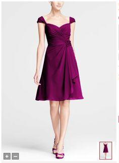 Sangria Bridesmaid dress 2