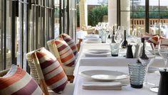 Alain Ducasse's Rivea restaurant in Saint-Tropez