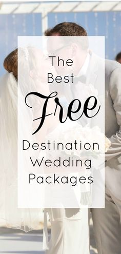Check out our favorite FREE destination wedding packages from the best resorts in Mexico and the Caribbean. #destinationwedding #vowswithaview #beachbride