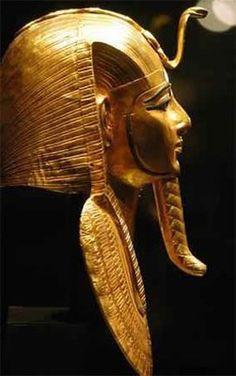Máscara funeraria de Psusenes I