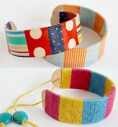 Trendy Simple Stick Bracelet- These awesome diy bracelets are made from popsicle sticks!!! Oh my goodness these are gorgeous and CHEAP!