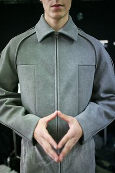 Backstage at Damir Doma Men's Spring 2014 - Slideshow - Runway, Fashion Week, Reviews and Slideshows - WWD.com