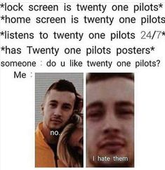 For every Twenty One Pilots song - Iomoio Tyler Joseph, Tyler And Josh, Twenty One Pilots Poster, Twenty One Pilot Memes, Twenty One Pilots Merch, Josh Dun, Camilla, We Will Rock You, Top Memes