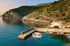 Beli harbour, Cres Island, Croatia