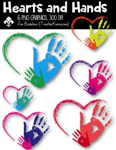 Hearts and Hands Clipart! You will LOVE these ** 6 ** graphics that are so much FUN! They are absolutely perfect for adding to parent newsletters, literacy Classroom Clipart, School Clipart, Classroom Decor, Classroom Teacher, Chocolate Bonbon, Hand Clipart, Writing Station, Bubble Letters, Thought Bubbles