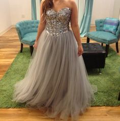 New Arrival  Long Prom Dress,Tulle Prom Gown,Beaded Party Dress,Sexy Prom Dress by fancygirldress, $169.00 USD