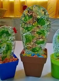 Resultado de imagen para vitrofusion utilisima Glass Cactus, Cactus Pot, Glass Vase, Slumped Glass, Fused Glass Art, Stained Glass, Mehndi Decor, Geometric Art, Mosaic Art