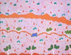 Alana Holmes KNGWARREYE_Sans titre_Art aborigene australien