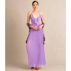 the best attitude d9059 de684 7 fantastiche immagini su Vestito lilla   Abiti alla moda ...