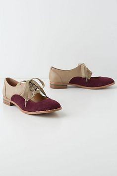 Olivia Cutout Oxfords. I know they look like bowling shoes, but I love 'em