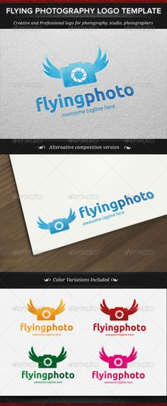 Flying Photography Logo Template - Available for purchase now :)