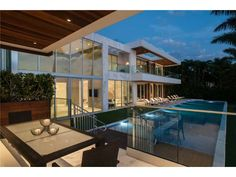 An ultra sophisticated and stylish backyard. Miami Beach, FL Coldwell Banker Residential Real Estate $37,000,000