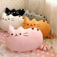10pcs/lot Kawaii Cat Pusheen Plush Pillow With Zipper Only Skin Without PP Cotton Pusheen Soft Cute Toys Big Cushion Covers 01-in Stuffed & Plush Animals from Toys & Hobbies on Aliexpress.com | Alibaba Group