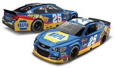 2015 CHASE ELLIOTT #25 DARLINGTON THROWBACK SPECIAL PAINT