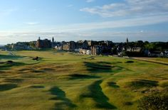 View from the Old Course Hotel #standrews #scotland #golf #oldcourse