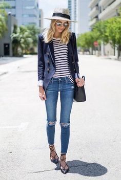 The Best Summer Outfit Ideas With Black Flats 30