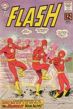 Gardner Fox & Harry Lampert's The Flash by Joe Giella & Carmine Infantino