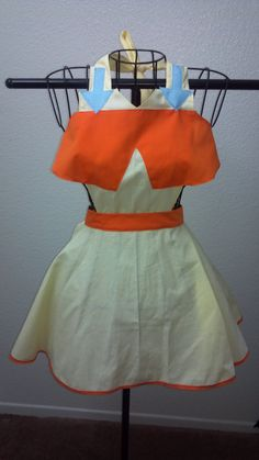 Avatar the Last Airbender Aang Inspired Apron by JinxNSparkyCrafts, $55.00