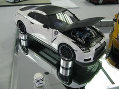 ‪Imperial-themed Nissan GT-R‬ ‪Fujimi kit‬ ‪2010 NIMCON‬  ‪#StarWarsDay #MayTheFourthBeWithYou‬