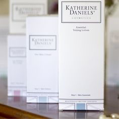 Brand Value #7 – We de-mystify skincare and deliver ultimate efficiency. #katherinedaniels… a self-assured brand #britishbrand #beauty #skincare