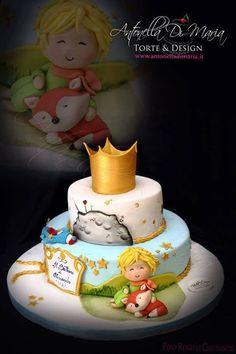 27 super Ideas for birthday cake fondant boy cupcake Prince Birthday Party, Birthday Cake For Him, Baby Birthday, Birthday Parties, Little Prince Party, The Little Prince, Torta Baby Shower, Fondant Cakes, Cupcake Cakes