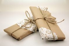 Small Thoughts: Brown paper packages tied up with string...