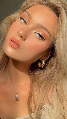 Makeup Eye Looks, Cute Makeup, Glam Makeup, Pretty Makeup, Skin Makeup, Beauty Makeup, Eye Makeup Designs, Natural Makeup Looks, Aesthetic Makeup