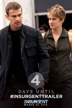 Check your pulse, Initiates… The WORLD PREMIERE of the Insurgent Trailer becomes reality FRIDAY! Can't wait? Another all-new Divergent Fandom exclusive image materializes tomorrow…