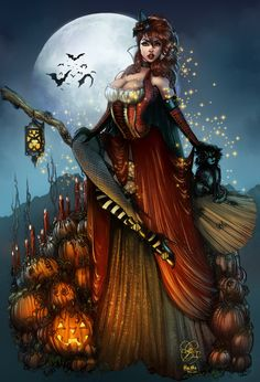 Endora 'The Good Witch' Colours by Sarah-Giardina.deviantart.com on @deviantART