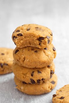 Cookies sans cuisson à la patate douce - Healthy Alie Healthy Snacks, Healthy Recipes, Dessert Healthy, Cookies Et Biscuits, Menu, Gluten, Vegan, Parfait, Desserts