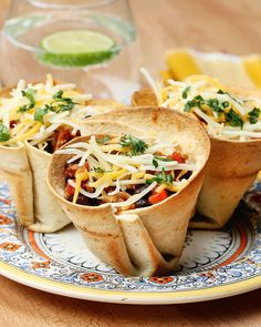 Tasty - Turkey Taco Cups This delicious recipe was. Meat Recipes, Mexican Food Recipes, Cooking Recipes, Tortilla Recipes, Dinner Recipes Easy Quick, Healthy Dinner Recipes, Buzzfeed Tasty, Buzzfeed Video, Turkey Tacos