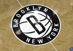 Brooklyn Nets center court.  Catch tipoff at 60% off!  #brooklynnets #barclayscenter