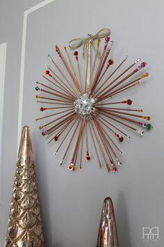DIY Starburst Wreath