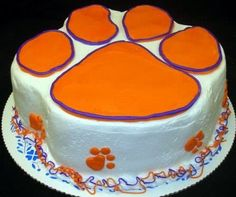 Groovy 14 Best Clemson Images Clemson Tiger Cake Cake Funny Birthday Cards Online Eattedamsfinfo