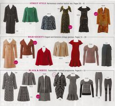 All Styles at a Glance 11/2014