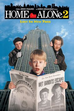 Home Alone Lost In New York on DVD from Century Fox. Directed by Chris Columbus. Staring John Heard, Joe Pesci, Macaulay Culkin and Daniel Stern. More Comedy, Christmas and Family DVDs available @ DVD Empire. All Movies, Movies To Watch, Movies Online, I Movie, Movies Free, Popular Movies, Watch Home Alone, Home Alone Movie, Streaming Hd