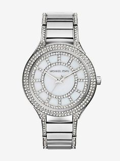 Kerry Pave Silver-Tone Watch