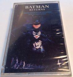 Batman Returns [Original Motion Picture Soundtrack] by Danny Elfman (Cassette, J