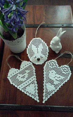Mania Przerabiania's 593 media content and analytics Crochet Tree, Love Crochet, Irish Crochet, Crochet Doilies, Crochet Yarn, Egg Crafts, Easter Crafts, Diy And Crafts, Easter Crochet Patterns