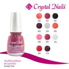 #Colores #Glamour de #CrystalNails