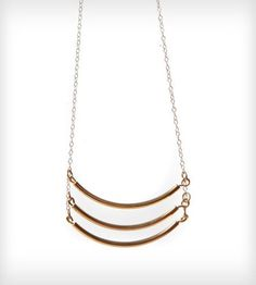 "3 Bars18"" $35. ($48) Triple Rod Necklace by K. Michael on Scoutmob Shoppe"