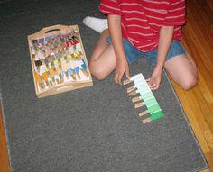Homemade Montessori Activities