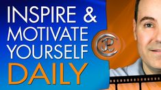 Do you need to #motivate yourself daily? On a busy day, you can motivate encourage and inspire yourself in as little as 60 seconds.