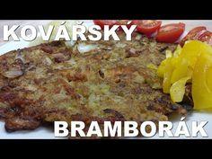 (8) Kovářský bramborák - YouTube Salty Foods, French Toast, Pizza, Breakfast, Youtube, Czech Recipes, Morning Coffee, Morning Breakfast, Youtube Movies