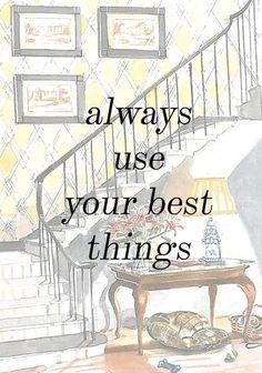 No importa a dónde o con quién vayas, lo importante es usar tus cosas preferidas.