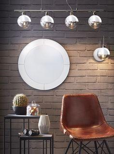 Total look : de la brillance, du métal et de la rondeur pour un ensemble très seventies... #homedecor #deco